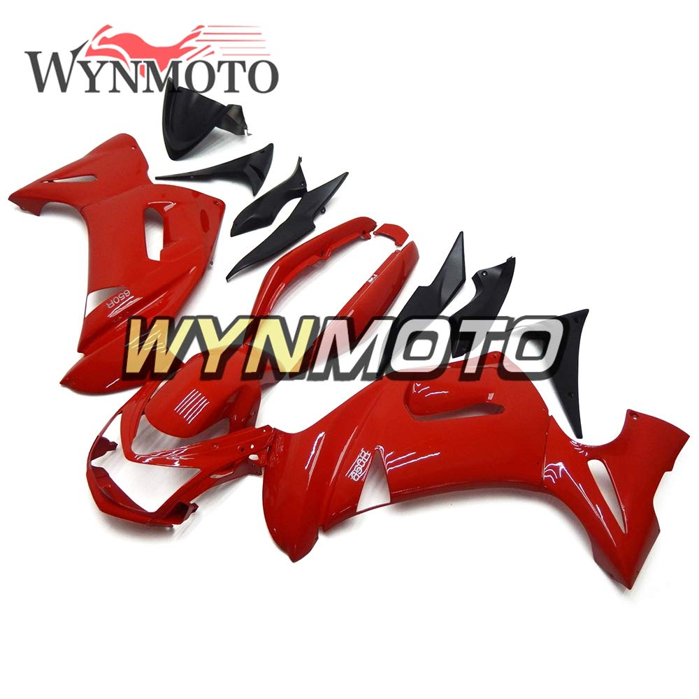 Amazon.com: WYNMOTO ABS Plastic Motorcycle Fairing Kit For ...