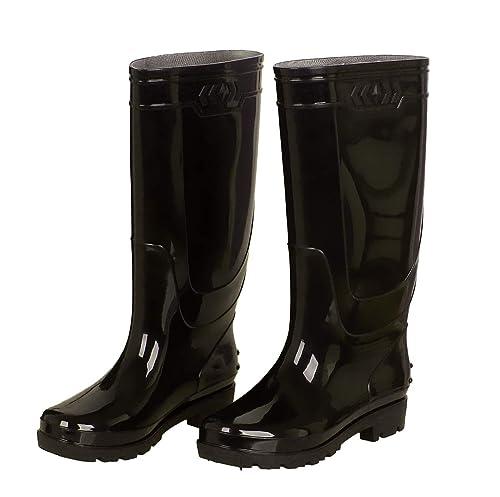 migliori scarpe da ginnastica 2e9d6 cae58 Stivali di Gomma Uomo Lavoro Giardino Alti Pioggia Stivali ...