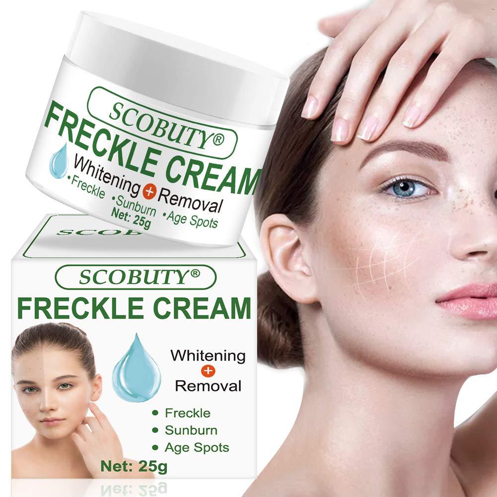 Dark Spot Corrector,Freckle Remover,Freckle Cream,Melasma Cream,Fade Cream,Bleaching Cream Skin Whitening Cream for Face Fade Hyperpigmentation Remover Dark Spots Melasma Cream by SCOBUTY