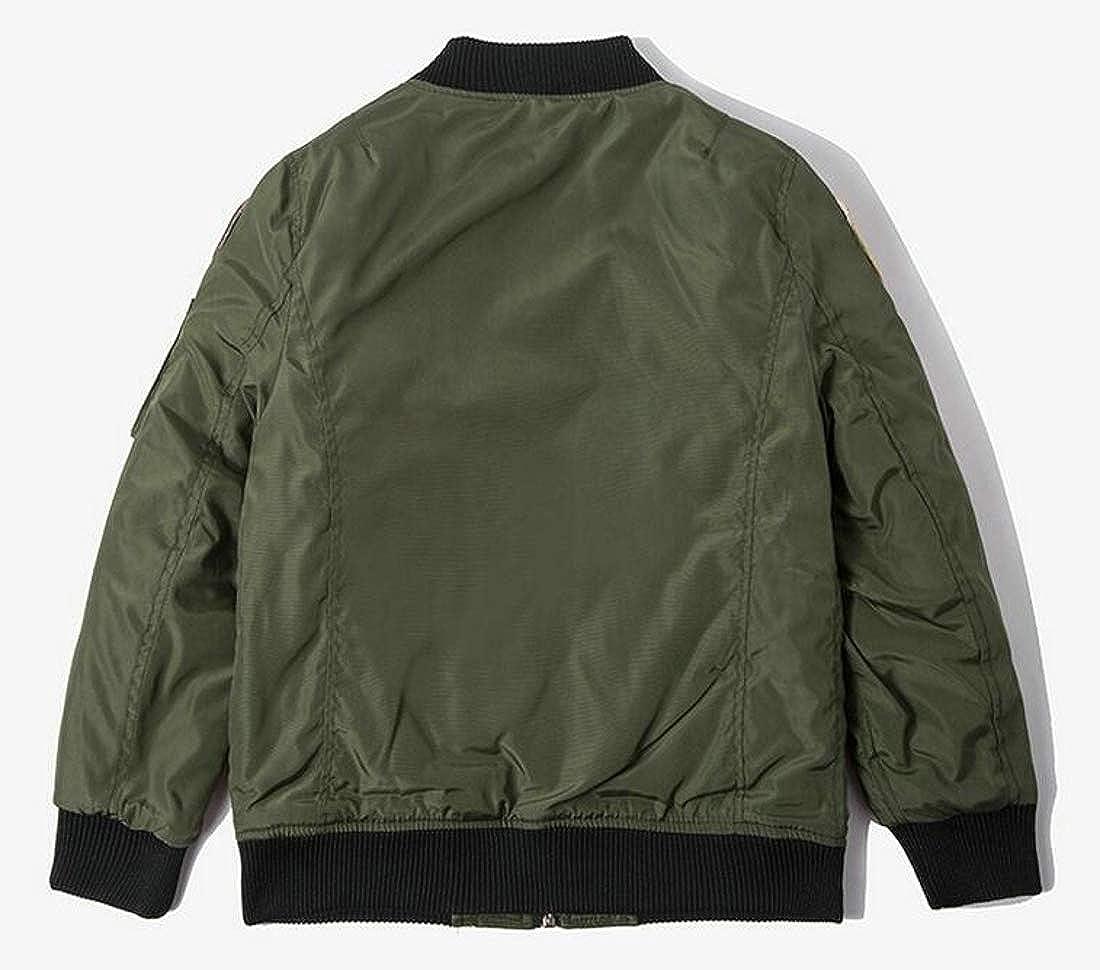 Sweatwater Big Boys Coat Thick Fashion Baseball Cotton-Padded Jackets
