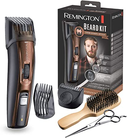 Remington MB4045 - Kit Recortador de Barba, 5 Accesorios y Barbero ...
