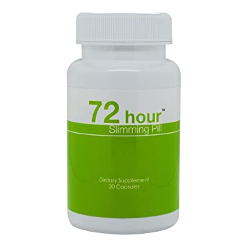 72 Hour Slimming Pill - All Natural Supplement for Fast Weight Loss - Best  Diet Pill to Lose
