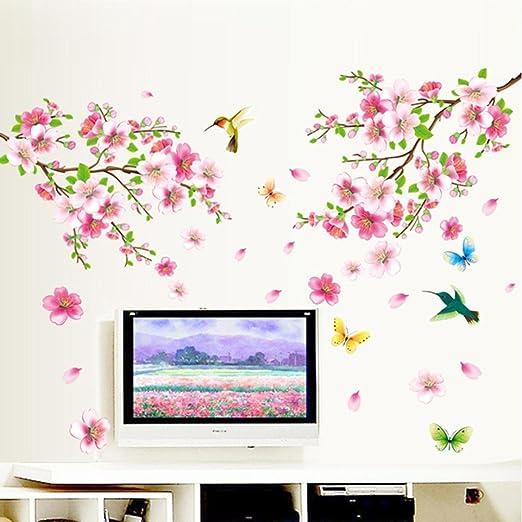 Wall Stickers Tree Flower Nursery Kids Wall Art Decal Butterfly Vinyl Decor\P649