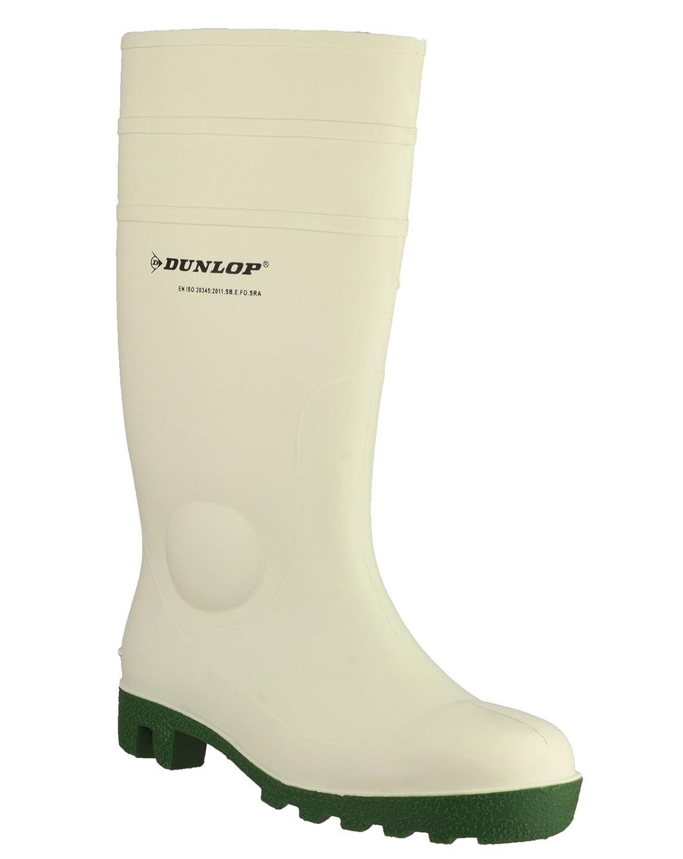 Dunlop - Calzado de protección de PVC para Hombre Blanco Blanco: Amazon.es: Zapatos y complementos