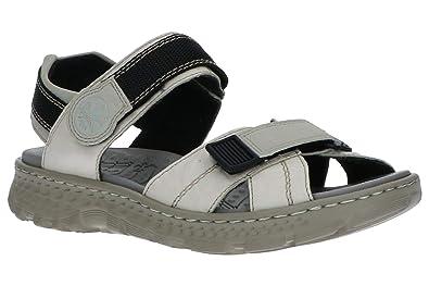 Rieker Damen Sandaletten V69G7 14 blau 681320: