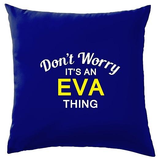 No Te Preocupes es una cosa de goma EVA. - Cojín 41 x 41 cm ...