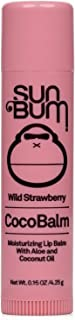 product image for Sun Bum Wild Strawberry Cocobalm | Hydrating Lip Balm with Aloe | Hypoallergenic, Paraben Free, Silicone Free,| 0.15oz Stick