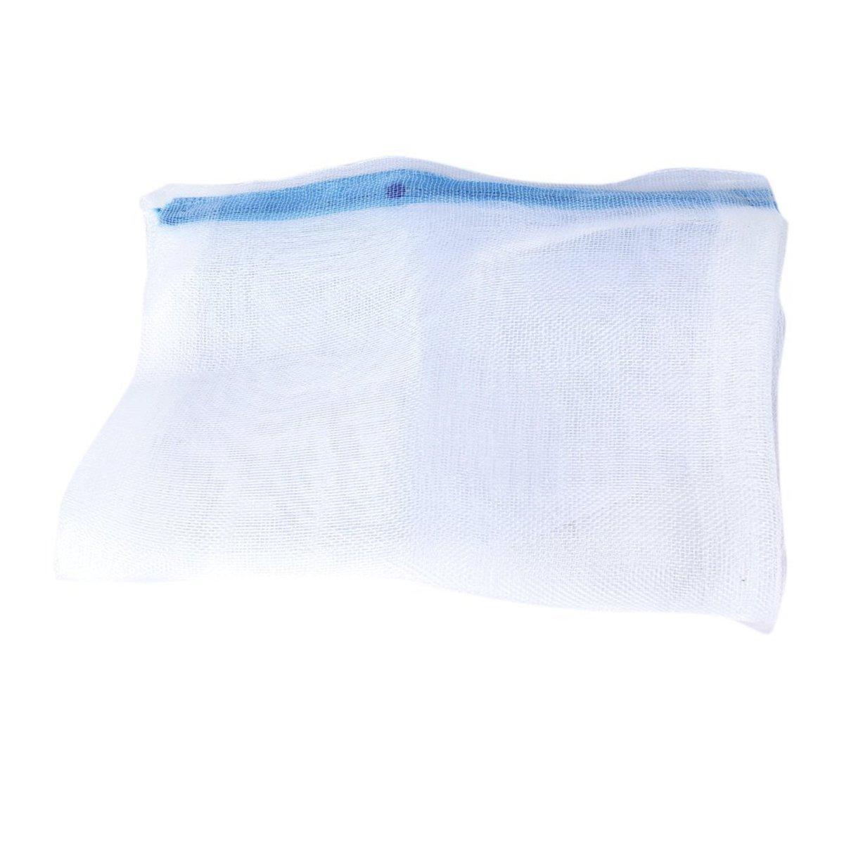 UKCOCO 5 Piezas de Medios de Filtro de Estanque para acuarios, Bolsas de Malla de Nylon con Cremallera (Color de Cremallera Rancom)