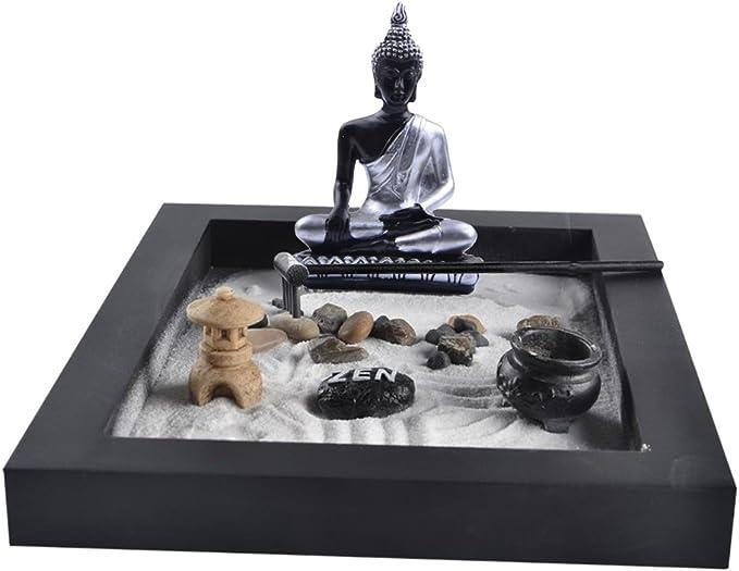 petsola Karensansui - Pérgola Zen para jardín sobre Bandeja ...