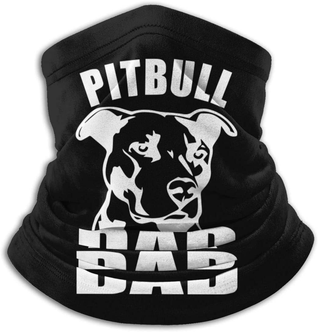 Pitbull DAD Unisex Cold Weather Ear Warmer Face XXWK Halstuch//Kopftuch