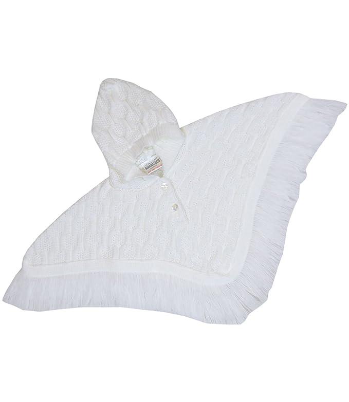 489b9f86c Amazon.com  BabyPrem Baby Poncho Hooded Cardigan Coat Knitted 0-23 ...