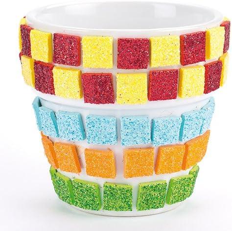 Baker Ross Ltd EF571 Pegatinas de Espuma Colores Surtidos