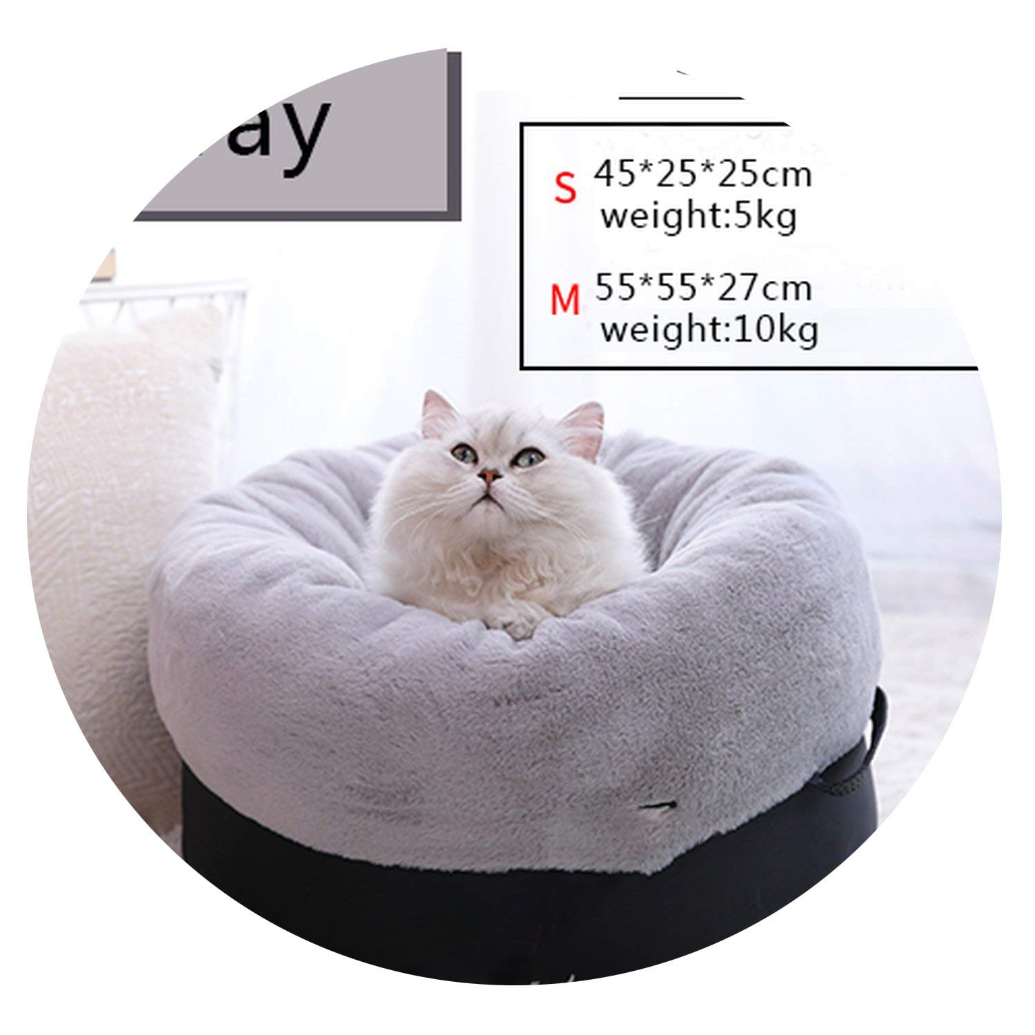 Astounding Amazon Com Cat Bed Bench For Cats Soft Material House For Squirreltailoven Fun Painted Chair Ideas Images Squirreltailovenorg