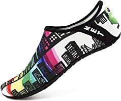 Womens and Mens Water Shoes Barefoot Quick-Dry Aqua Socks for Beach Swim Surf Yoga Exercise