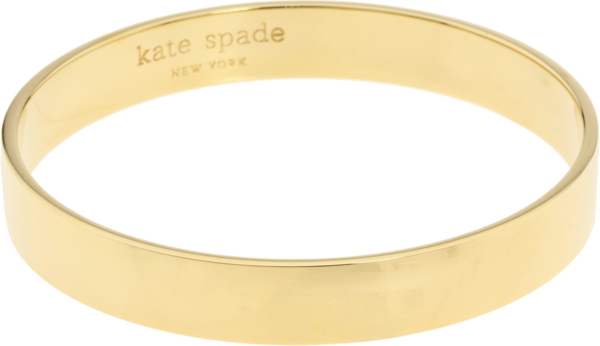 Kate Spade New York Womens Idiom Bangles Solid Gold Gold One Size