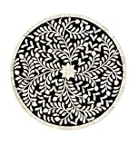 Mela Artisans MACH028 Imperial Beauty Charger Plate, Round