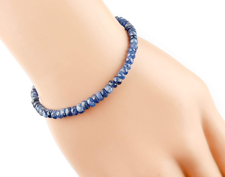 14k gold filled September birthstone minimalist jewelry Lapis Lazuli bracelet and necklace set