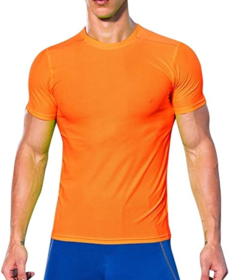 Coohole - Camiseta Deportiva para Hombre, para Actividades al Aire ...
