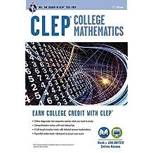 CLEP® College Mathematics Book + Online