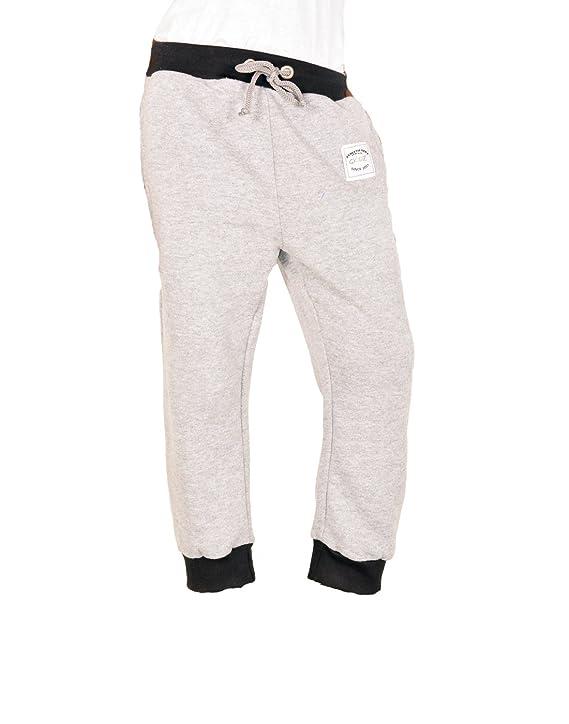 Gkidz Boys Sweat Pants(WWB-TP-002-GREY_ Grey) Boys' Sports Trousers at amazon