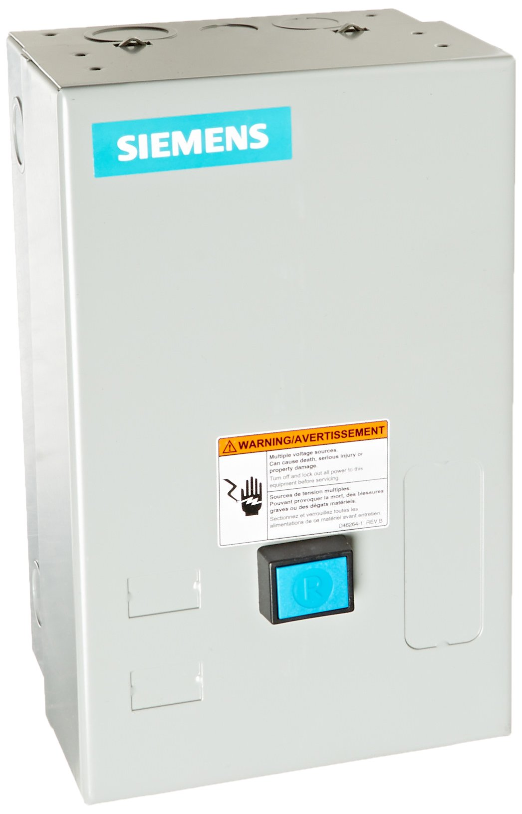Siemens 14CUC32BC Heavy Duty Motor Starter, Solid State Overload, Auto/Manual Reset, Open Type, NEMA 1 General Purpose Enclosure, 3 Phase, 3 Pole, 0 NEMA Size, 3-12A Amp Range, A1 Frame Size, 220-240/440-480 at 60Hz Coil Voltage