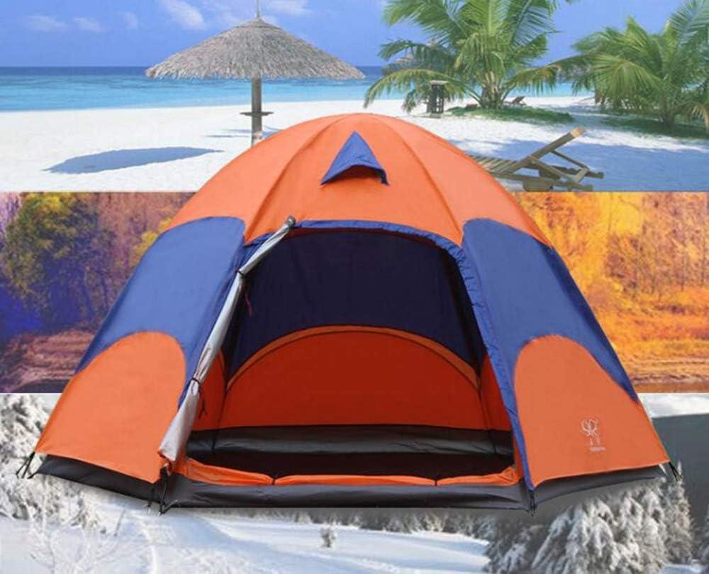 BBX Grupo Tienda de campaña con Parasol 5000 mm Agua Columna Festival Playa mochilero Trekking Impermeable al Aire Libre cúpula Carpa 5-8 Personas Abrigo de Nieve a Prueba de Viento: Amazon.es: Deportes