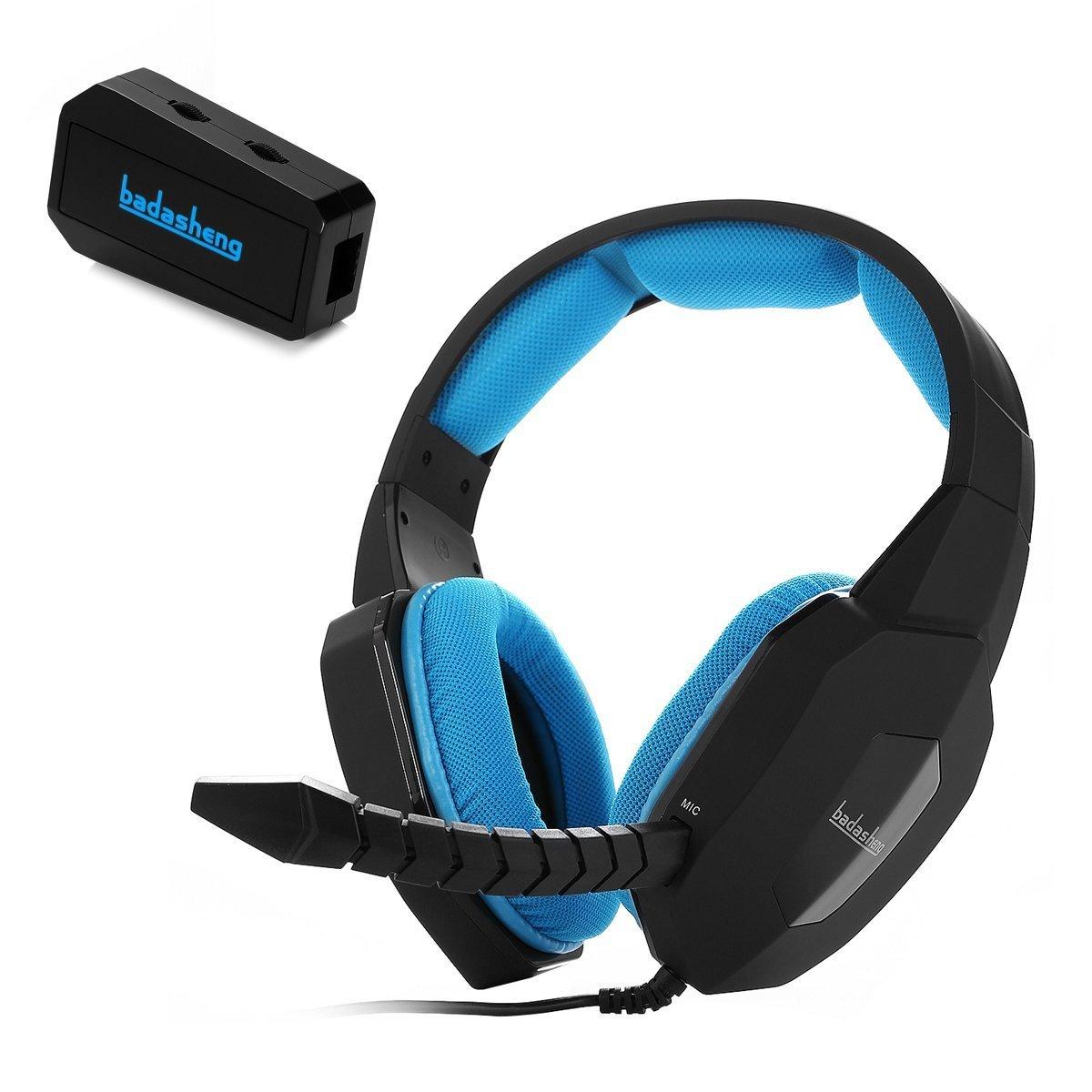 Amazon.com: Badasheng Multi-platform Stereo Sound Gaming Headset BDS ...
