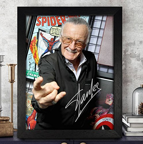 Stan Lee Avengers: Infinity War Cast Autographed Signed 8x10 Photo Reprint #46 Special Unique Gifts Ideas Him Her Best Friends Birthday Christmas Xmas Valentines Anniversary Fathers Mothers - Autograph Poster