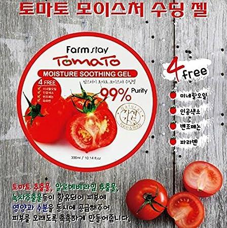Granja estancia Tomate humedad Gel Relajante 300 ml/10.14oz: Amazon.es: Belleza