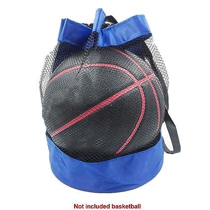 b233d74d9 yodaliy Mesh Ball Bag,Ball Net Bag Storage Netting Basketball Football  Volleyball Soccer Mesh Carry