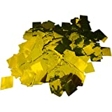 【EDEN】キラキラ ゴールド 紙吹雪 かどまる四角形 2cmサイズ63.3g(約4580枚) ショー演出 ウェディング [E336]