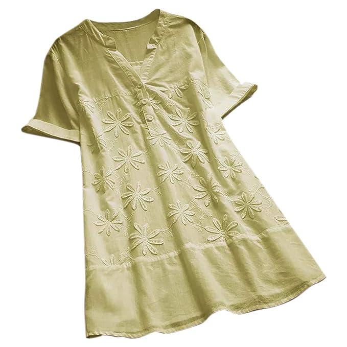 Blusas De Mujer De Moda 2019 Elegantes Camiseta Bordada ...