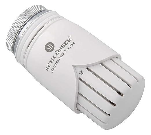 Candados de termostato M 30 x 1,5 Diamant Heimeier blanco 6001 00001