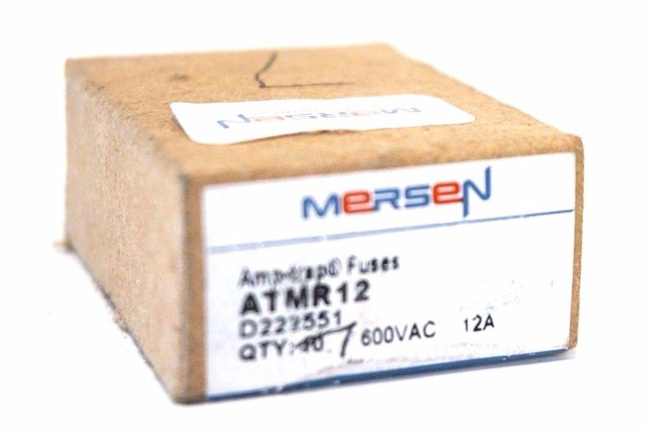 7 NEW MERSEN ATMR-12 FUSES ATMR12
