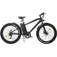 REVOE 552032 Fat, Bici Elettrica Unisex – Adulto, Nero, Unica