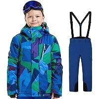 LPATTERN Traje de Esquí para Niños/Niñas Traje Conjunto