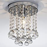 POPILION Modern Handpicked Crystal Celling Chandelier Light,Dining Room Livingroom