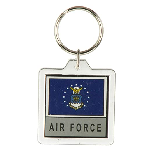 Military Flag Key Rings - Air Force OSFM at Amazon Women s Clothing ... b1e8d866e7