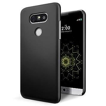 SLEO Funda LG G6, Cubierto Cover de Parachoques Carcasa Duro Ligero y Delgado Protectora para LG G6- Negro