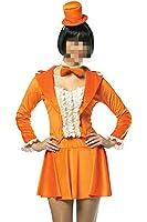 Fancy Dumb and Dumber Harry Orange Tuxedo Costume