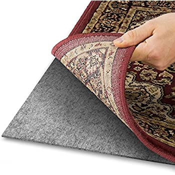 Area Rug Pad With GRIP TIGHT Technology (5x8) | Non Slip Padding Perfect  For Hardwood Floors | Thick Felt Cushion For Rugs Nonskid Kitchen Persian  Carpet ...