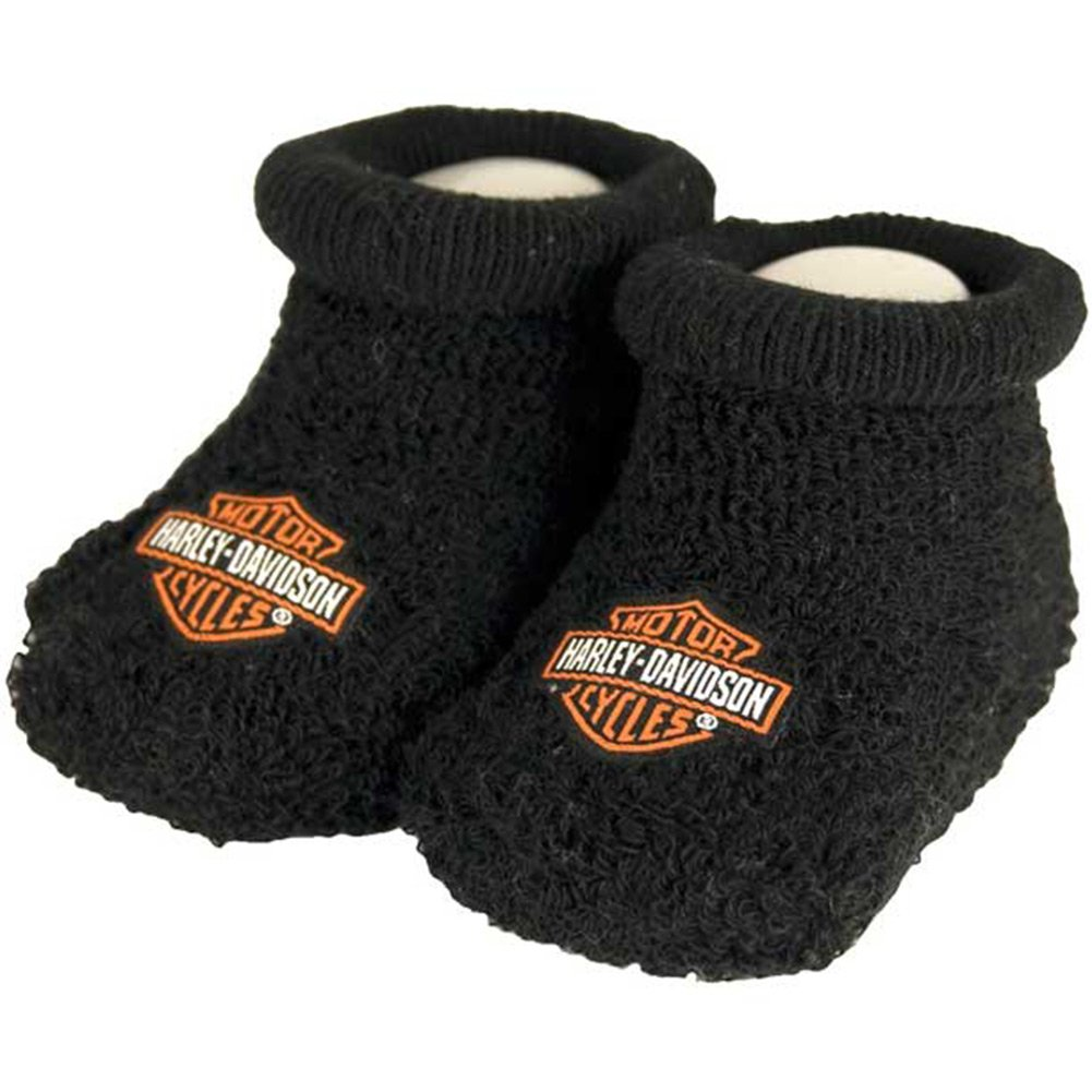 Harley-Davidson Baby Booties 0-3 Months