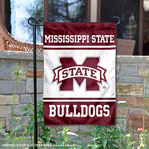 College Flags and Banners Co. Mississippi State Bulldogs Garden Flag ()