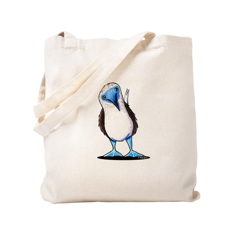 CafePress – Blue Footed Booby – ナチュラルキャンバストートバッグ、布ショッピングバッグ S ベージュ 0855777863DECC2 B0773SPV26 S