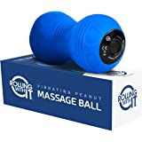 Professional Vibrating Peanut Massage Ball - Deep Tissue Trigger Point Therapy, Myofascial Release - Handheld, Cordless…