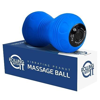 Amazoncom Professional Vibrating Peanut Massage Ball Deep Tissue
