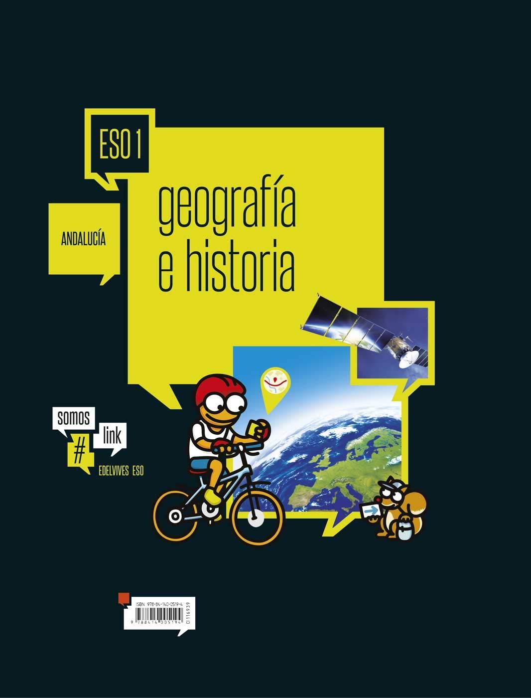 Geografía e História 1º ESO-Andalucia Somoslink - 9788414005194: Amazon.es: Granda Gallego, Cristina, Núñez Heras, Raúl: Libros