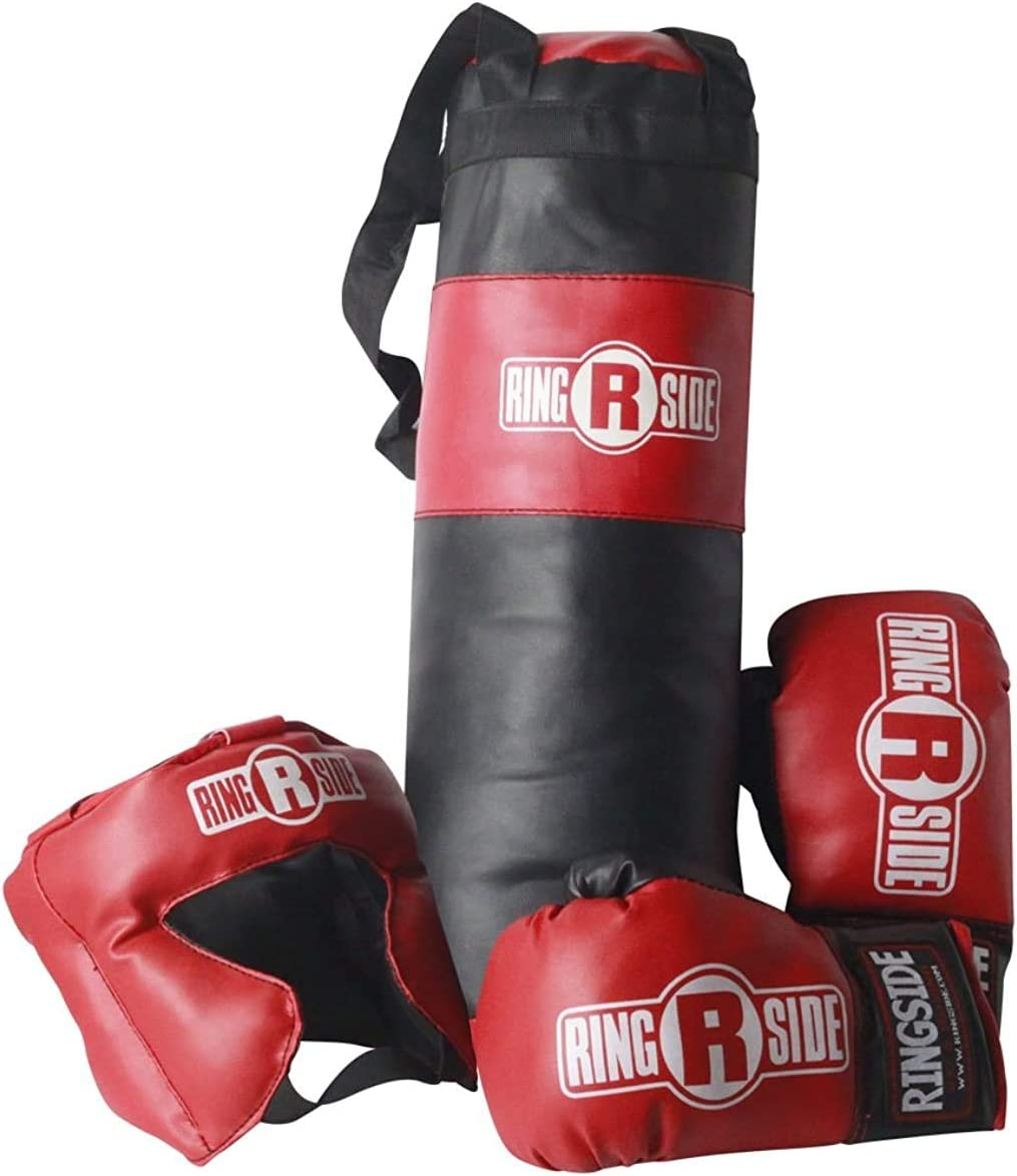 Ringside Kids Boxing Gift Set (2-5 Year Old), Black : Boxing Equipment : Sports & Outdoors
