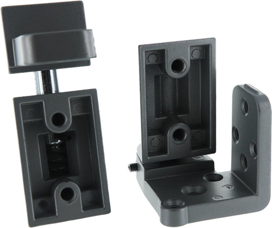 C.R LAURENCE 0P41RHA CRL Aluminum Offset Right Hand Pivot Set with 3//32 Recess