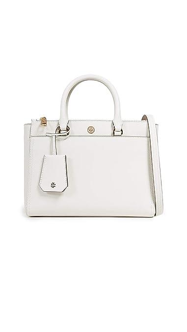 4e6ca5785f97 Amazon.com  Tory Burch Women s Robinson Small Double Zip Tote Bag ...